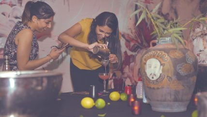 team building mixology events